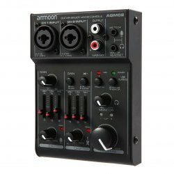 Ammoon AGM02 Mini 2-Channel Sound Card