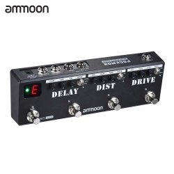 Ammoon POCKMON Multi-Effects Pedal Strip Guitar Effects Pedal