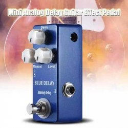 Mosky Blue Delay Guitar Effects Pedal