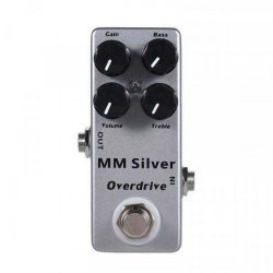 Mosky MM Silver Overdrive Effect Pedal