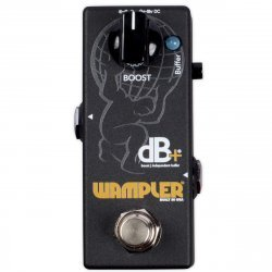 Wampler DB+ Plus Boost/Independent Buffer Guitar Effects Pedal (Version 2)