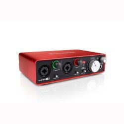 Focusrite Scarlett 2i2 (2nd Gen) Audio Recording Interface with Pro Tools First