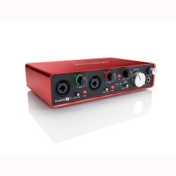 Focusrite Scarlett 2i4 (2nd Gen) Audio Recording Interface with Pro Tools First