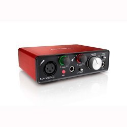 Focusrite Scarlett Solo (2nd Gen) Audio Recording Interface with Pro Tools First