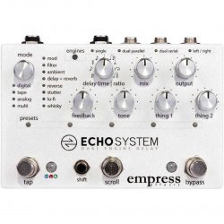 Empress Effects Echosystem Dual Engine Digital Delay Guitar Effects Pedal
