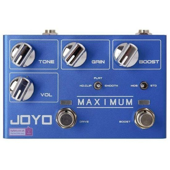 Joyo R-05 Maximum Overdrive Guitar Effects Pedal