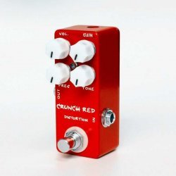 Mosky Crunch Red Distortion Pedal