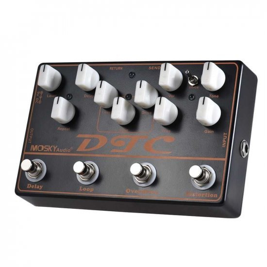 Mosky DTC 4 in 1 Guitar Effects Pedal