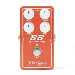 Xotic Effects BB Preamp V1.5 Guitar Effects Pedal