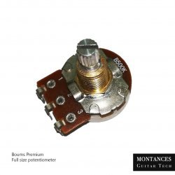 Bourns Potentiometers Custom Series Full Size for guitar and bass