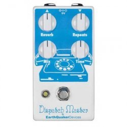 EarthQuaker Devices - Dispatch Master V2 - Digital Delay & Reverb
