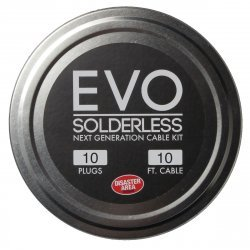 DISASTER AREA - EVO Solderless Cable Kit - 10 plugs w/ 10 Ft Cable (black)