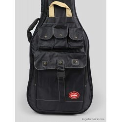 Kavaborg HG-600B Bass Guitar Gig Bag (Black)