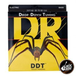 DR DDT-50 Drop Down Tuning Heavy Bass Strings 50-110 (50 70 90 110)