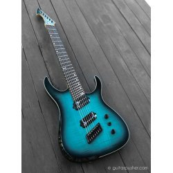 Ormsby Hype GTR 7-String Multiscale Electric Guitar Beto Blue