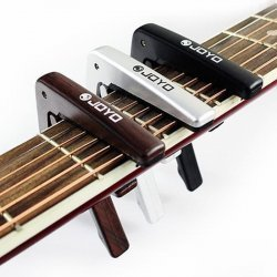 Joyo JCP-01 Quick Change Clamp Capo with Pick - Brown