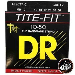 DR MH-10 Tite-Fit Medium-Heavy Electric Guitar Strings 10-50 (10 13 17 28 38 50)