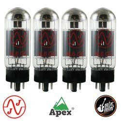JJ Electronics 6L6GC Power Vacuum Tube - Matched Quad