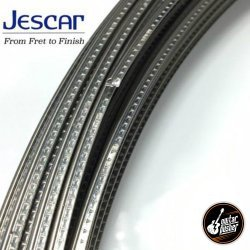 Jescar Nickel Silver Fretwire Medium 43080 - 25 pcs