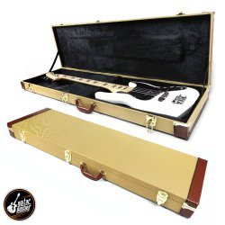 G-Craft HC-136 Deluxe Hard Case for Electric BASS - Tweed