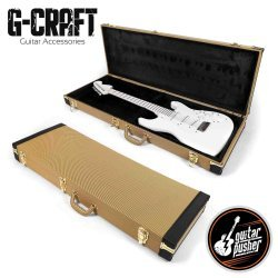 G-Craft HC-125 Deluxe Hard Case for Electric GUITAR - Tweed