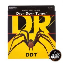 DR DDT-65 Drop Down Tuning Extra Heavy Bass Strings 65-125 (65 85 105 125)