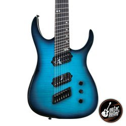 Ormsby Hype GTR 7-String Multiscale Electric Guitar Sophia Blue