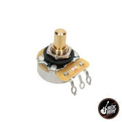 CTS 250k Potentiometer Custom Taper for Tele Guitar - Solid Shaft 1/4 in shaft US spec (450GT25R254A2L 1805)