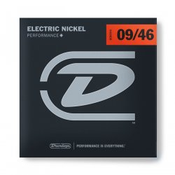 Dunlop Nickel Wound Hybrid Extra Light Electric Guitar Strings 9-46 (9 11 16 26 36 46)