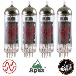 JJ Electronics EL84 Power Vacuum Tube - Apex Matched Quad