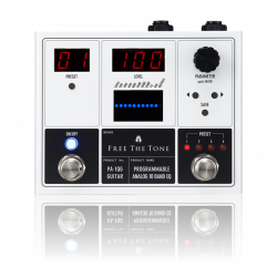 Free The Tone PA-1QG Analog 10 Band Programmable EQ for Guitar