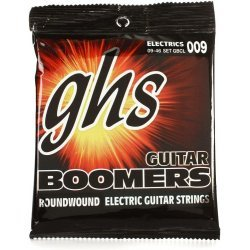 GHS Boomers GBCL Light Heavy Bottom Electric Guitar Strings 9-46 (9 11 16 26 36 46)