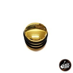 GP KN10AU Gold Knob for Guitar with Rubber - Metric