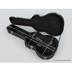 HC-035 Black hard case for Classical Guitars