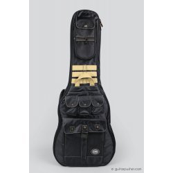Kavaborg HG-600F Acoustic Guitar Gig Bag (Black)
