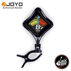 Joyo JT-202 Rechargeable Clip On Guitar Tuner - Black