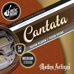 Medina Artigas Cantata Classical Guitar String - Medium Tension