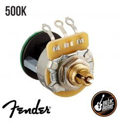 Fender Potentiometer, S-1, Knurled Shaft, 4PDT - Resistance: 500 kΩ