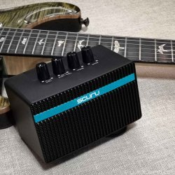 Scuru S1-B Bass Guitar Practice Amplifier with Drive Channel
