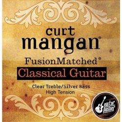 Curt Mangan Classical Guitar String Set - High Tension (Clear/Silver)