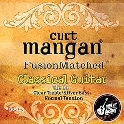 Curt Mangan Classical Guitar String Set - Normal Tension (Clear/Silver)