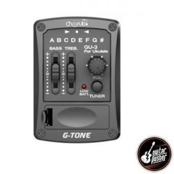 Cherub G-Tone GU-3 Ukulele Pickup with EQ and Onboard Tuner