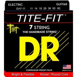 DR EH7-11 Tite-Fit 7-String Heavy Electric Guitar Strings 11-60 (11 14 18 28 38 50 60)