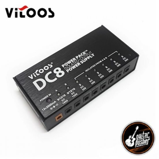 Vitoos DC8 3-Isolated Power Supply (9-18v)