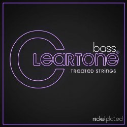 Cleartone Nickel Plated Bass Strings (4 Strings)