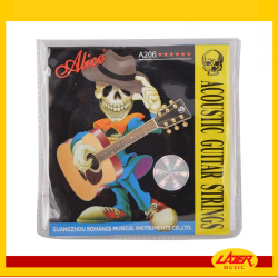 Alice A206 Super Light 11-52 Acoustic Guitar Strings Phosphor Bronze Color Alloy Winding