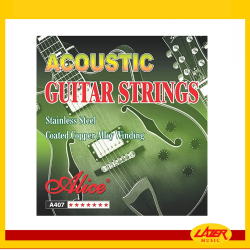 Alice A407 Light 12-53 Acoustic Guitar Strings Coated Copper Alloy Winding