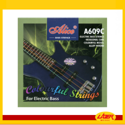 Alice A609C Multicolor 40-95 Bass Guitar Strings