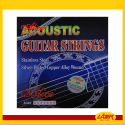 Alice A307 Super Light 11-52 Acoustic Guitar Strings Silver Plated Copper Alloy Winding