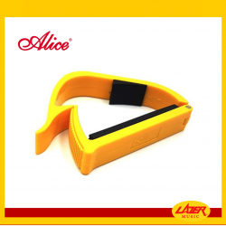 Alice A007E-A Capo for Acoustic/Electric Guitar (Yellow)